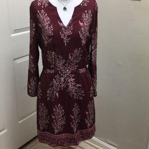 Madewell size 6 silk dress.